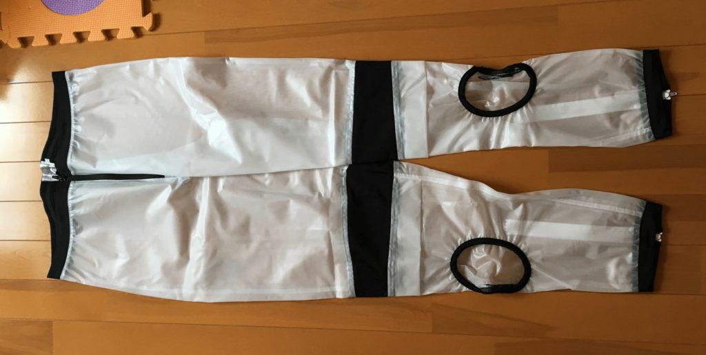 レーシングスーツ用レインウェアのズボン