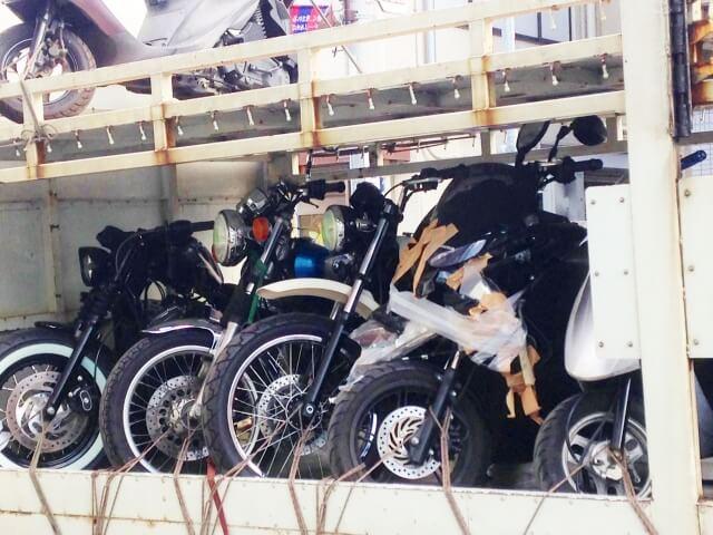 バイクの盗難