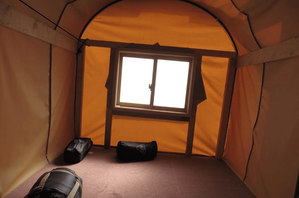 移動式テント