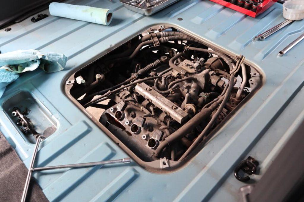 エンジンの分解